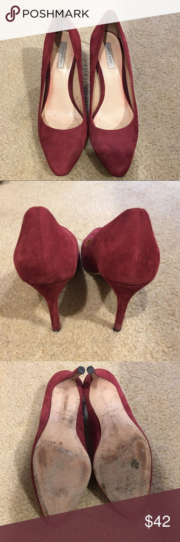 Cole Haan Pumps Used Condition Size 7, Velvet material. Cole Haan Shoes Heels
