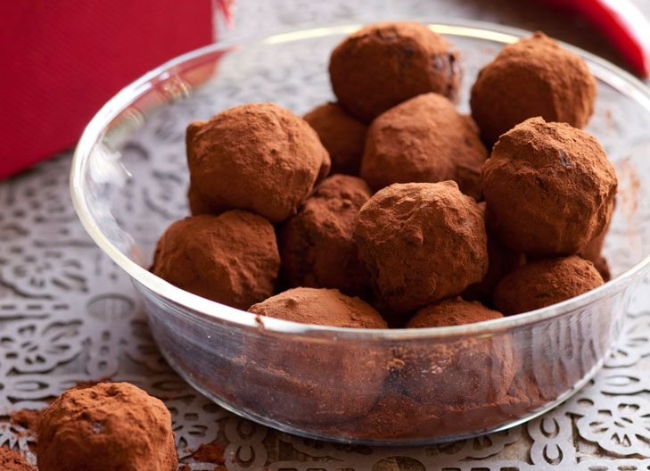 Good quality chocolate is the key to these simple truffles, that have a hint of chilli to spice things up.