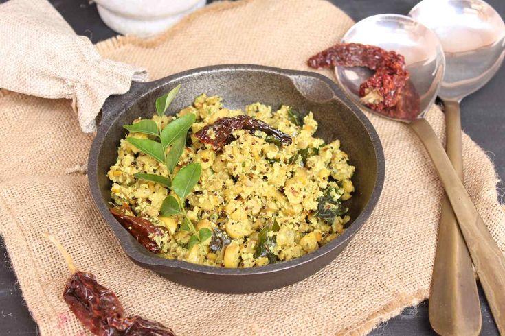 मशरम थरन - Kerala Style Mushroom Sabzi (Recipe In Hindi)
