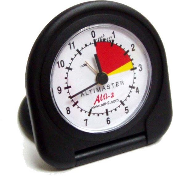 Reloj despertador. No es altimetro