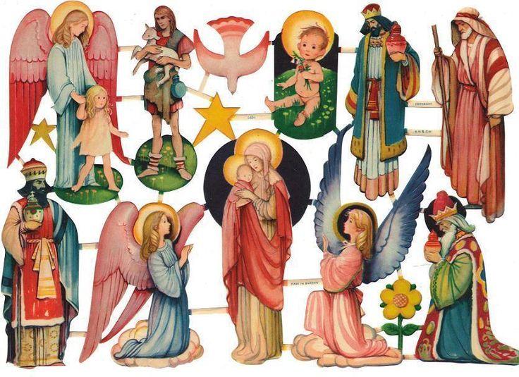 Helark Artelius Jul krubba/Jungfru Maria & Jesus EO & CO