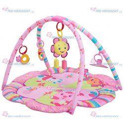 Dětská hrací deka BabyOno s hrazdou sluníčko