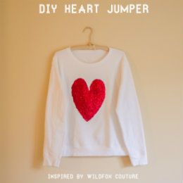 DIY Wildfox Couture Inspired Sweatshirt « Tulle and Trinkets