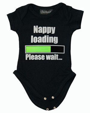 Nappy Loading Onesie