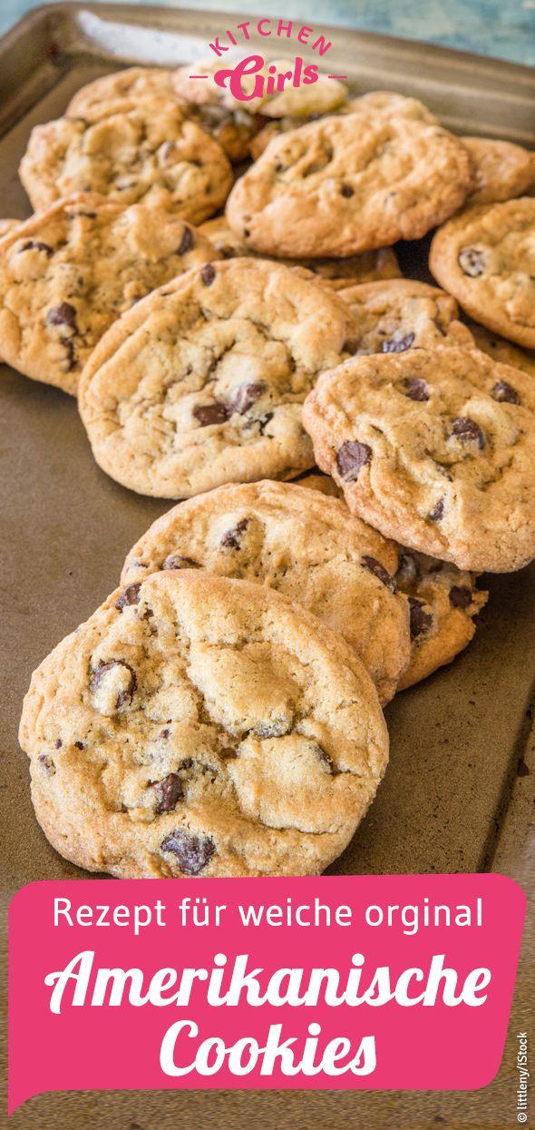 Rezept für amerikanische Cookies original wie von…
