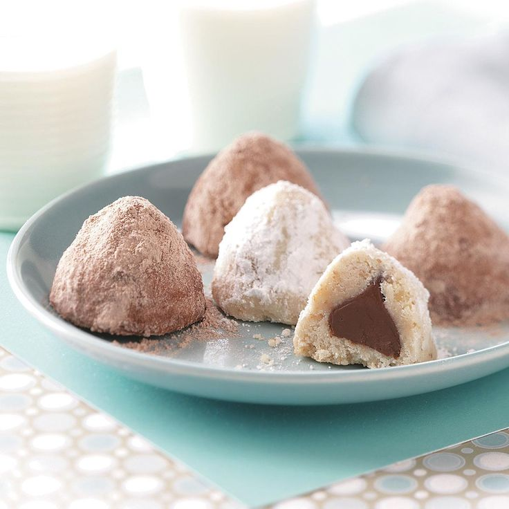 """Secret Kiss Cookies Recipe -Here's a recipe that's literally sealed with a """"kiss."""" This cookie's bound to tickle any sweet tooth. —Karen Owen, Rising Sun, Indiana"""