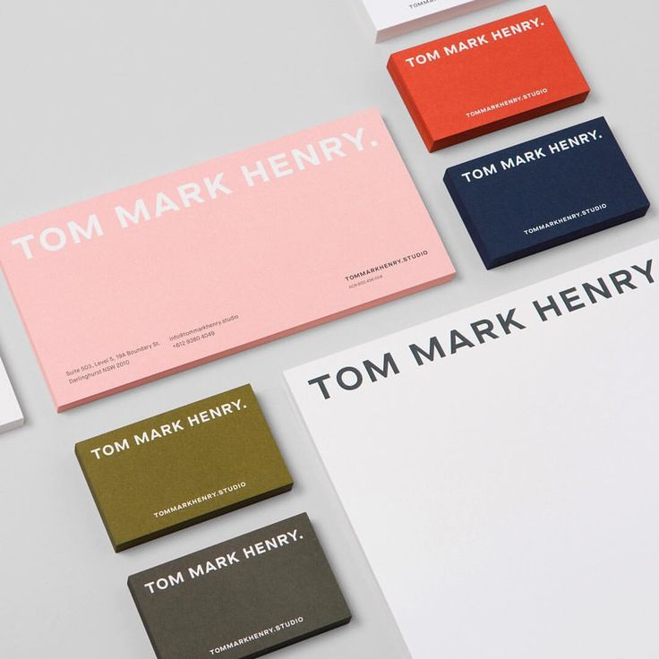 Tom Mark Henry by @cd_and_co on Visual Journal - #branding #identity #logo #graphicdesign #design #minimalism #mark #logotype…