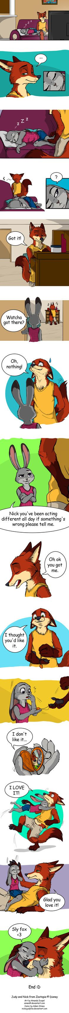 Nick and Judy - Zootopia by Amand4.deviantart.com on @DeviantArt