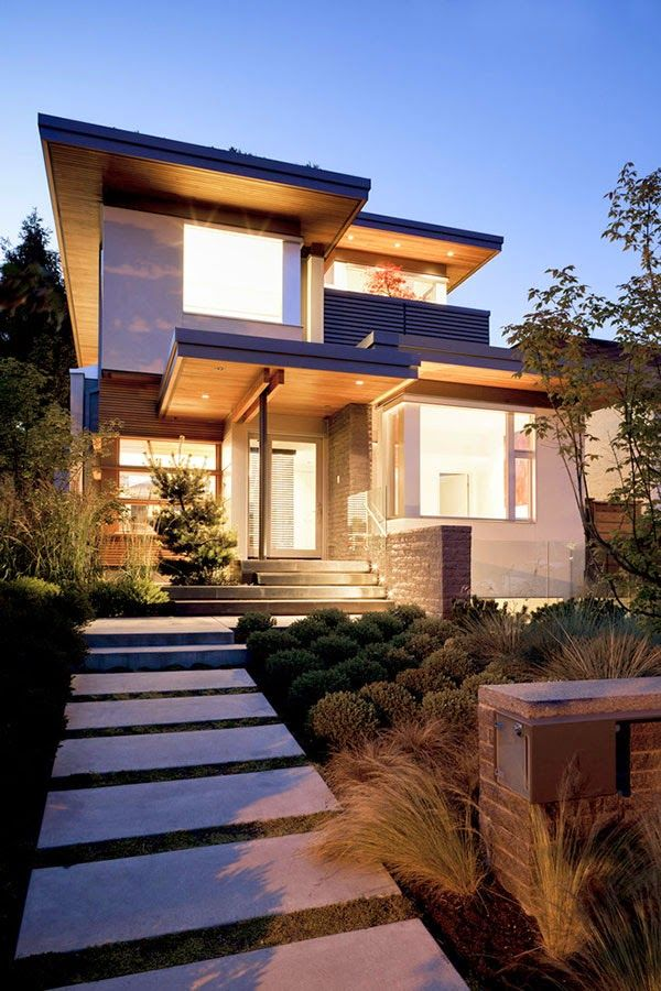 Decor Salteado - Blog de Decoração | Design | Arquitetura | Paisagismo: Fachadas de casas com madeira - veja 30 modelos modernos e maravilhosos!