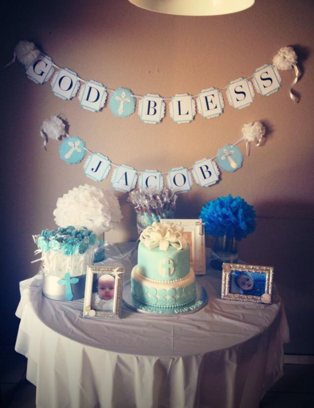 25 best ideas about baby dedication cake on pinterest for Baby dedication decoration ideas