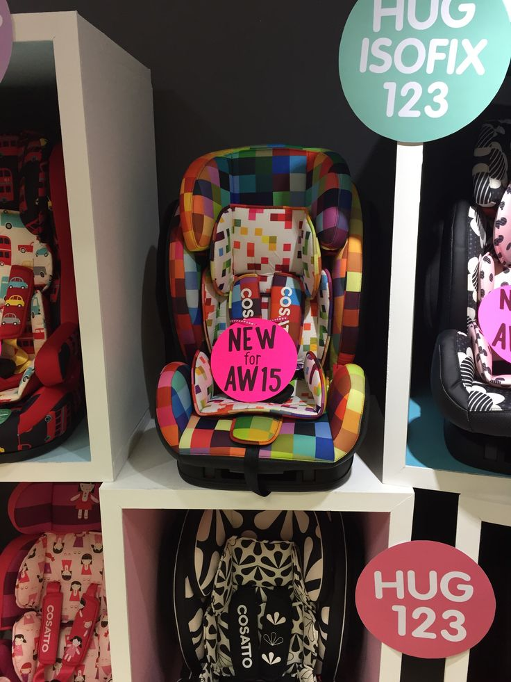 Pixelate now joins the rank of car seats past the infant carrier in the Hug ISOFIX!