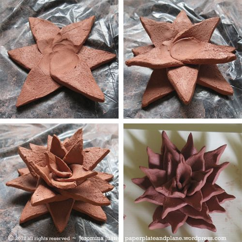 for playdough challenge terracotta succulent process