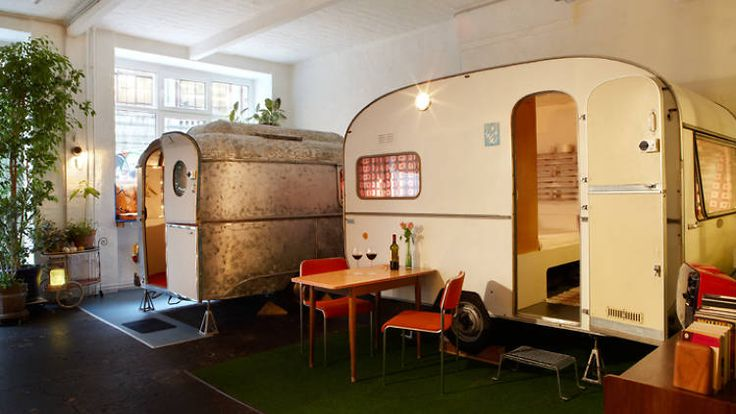 City Envy: Berlin has a shed hotel (and it's way better than it sounds)