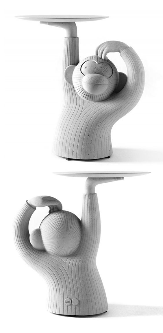 BD Barcelona | Monkey - side table (garden collection) | design by Jaime Hayon