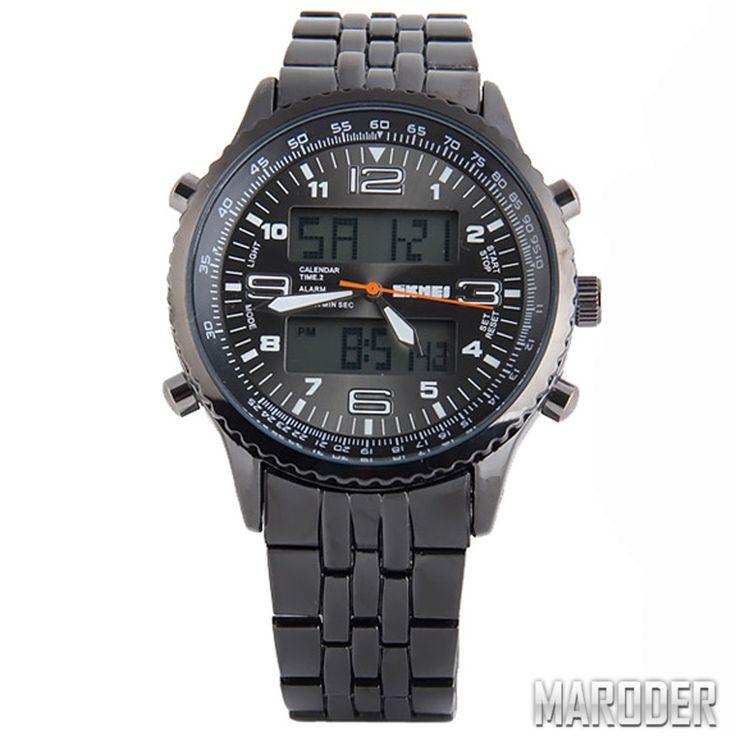 Часы мужские Skmei 1032 Metal. Черные – MARODER
