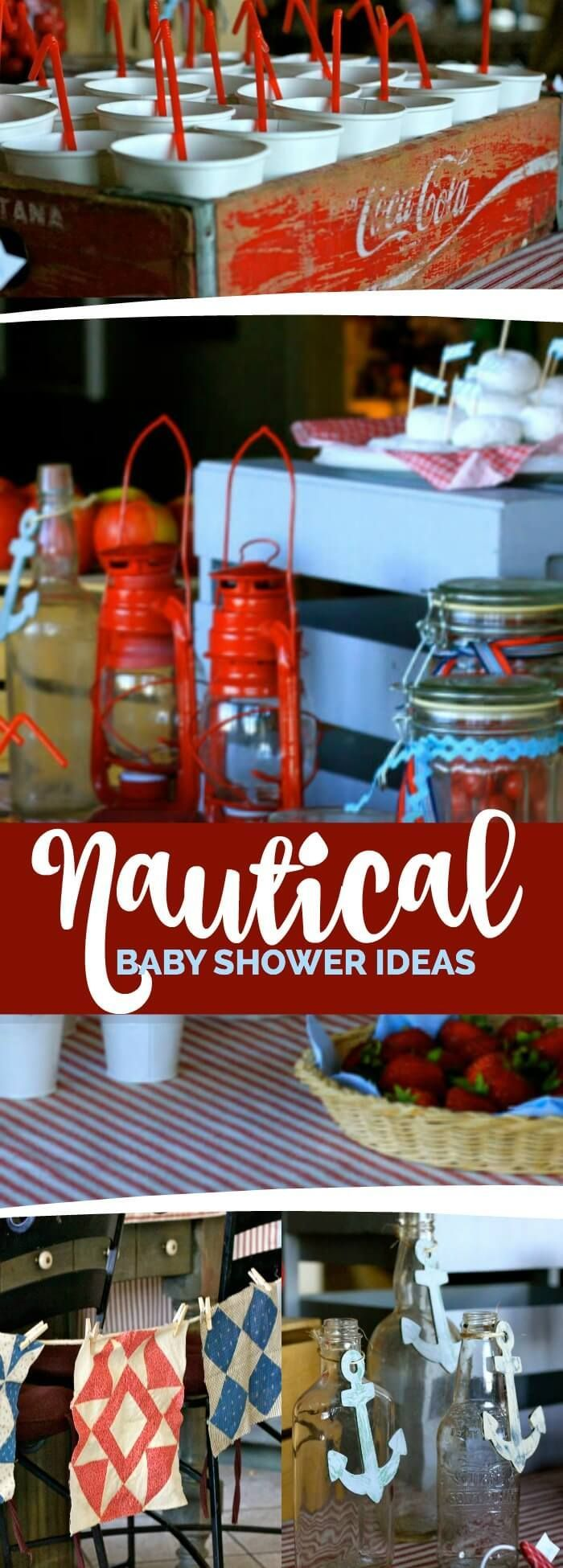 Hosting a baby shower and need some food ideas look no further since - A Nautical Baby Shower
