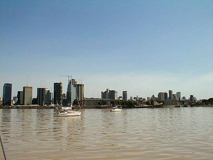 Buenos Aires vista desde el Rio