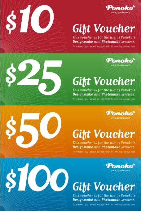 12 best VOUCHER DESIGN images on Pinterest Gift cards, Business - make voucher