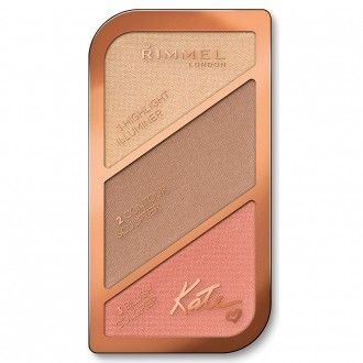 Rimmel Kate Sculpting Palette in 002 Coral Glow 18.5 g
