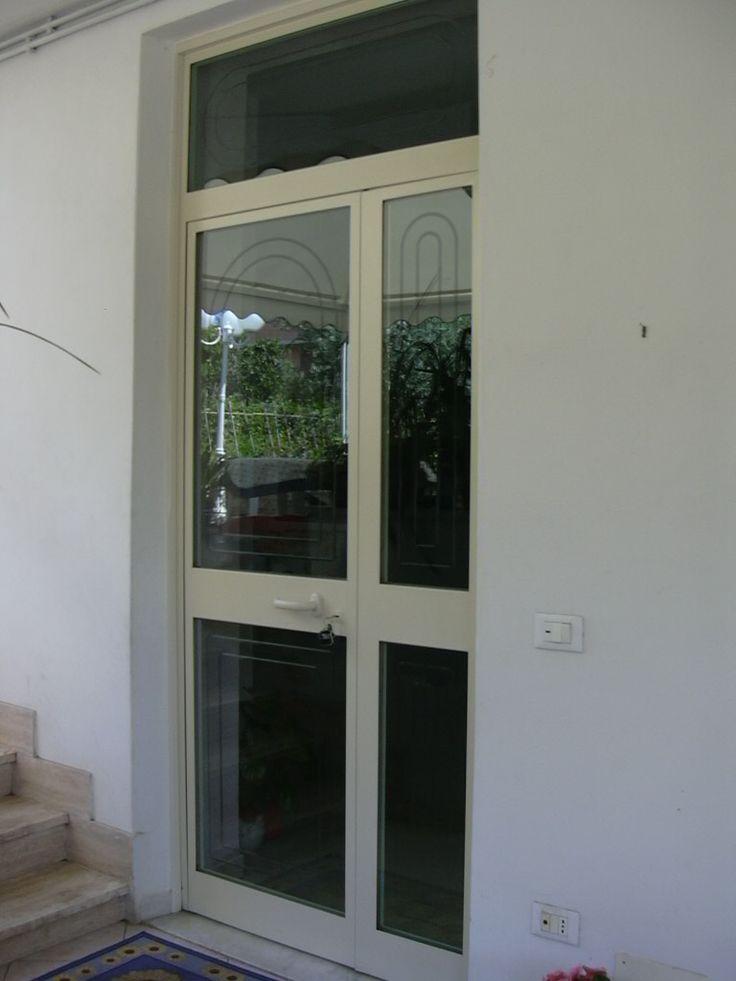 Portoncino ingresso ferro e vetro nm22 regardsdefemmes for Orvi infissi