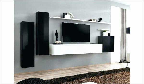 Meuble Tv Mural Pas Cher Frais Meuble Tv Mural Suspendu Ikea A