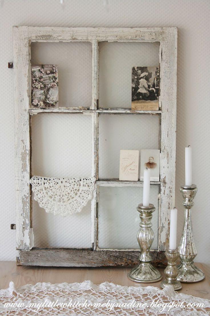 Old window.. <3  My little white home by Nadine: Raam zonder uitzicht