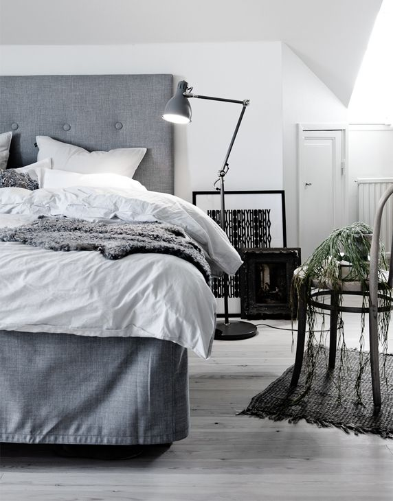 BEDROOM IN GREY