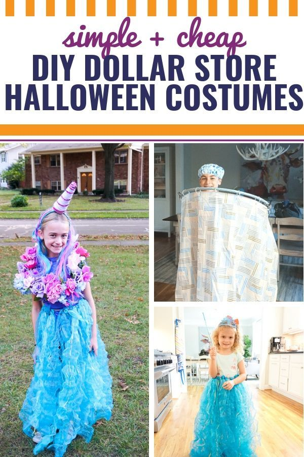 Superb ... Youu0027re Sure To Find Something To Love With These Three Easy And  Insanely Cheap DIY Halloween Costumes Using Supplies From The Dollar Store  ...
