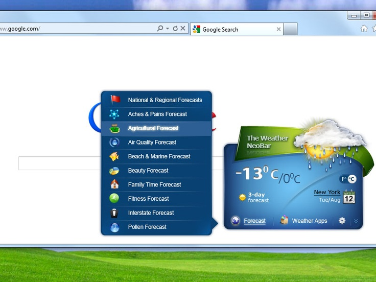 "Free weather extension with unique graphical representation of the current weather in a ""minimized"" and ""extended"" view. Get international weather forecasts from Weather.com in most convenient way! Our free weather plug-in is the most amazing weather app ever made! First of all, there is no need to make any special actions like opening weather forecast website like BBC weather or Yahoo! Weather to get local weather forecast for number of cities in United States, Canada, UK and all over the…"