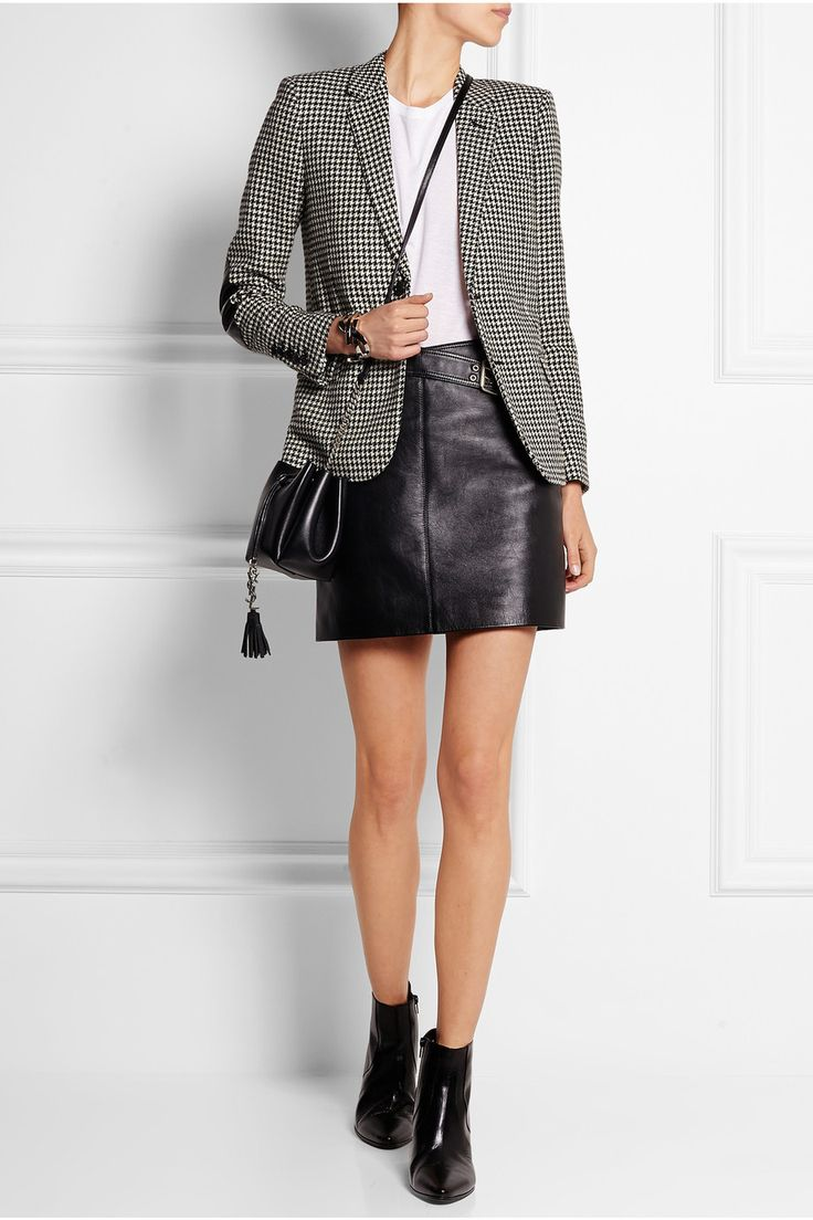 nice tweed blazer outfit women 12