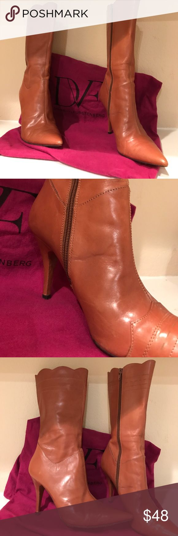 Charles David boots Lightly worn excellent shape Charles David boots  3 1/2 inch heels hight from bottom to top 13 1/2 inches Charles by Charles David Shoes Heeled Boots