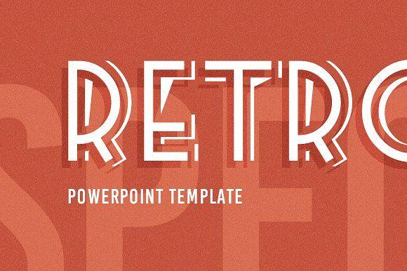 Retrospective PowerPoint Template by ReworkMedia on @creativemarket