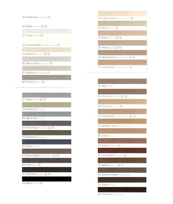 """When you're choosing a grout color, find the darkest color in your tile and chose one shade deeper for your grout color. This tricks the eye into thinking that the grout lines are shadow around the """"wood planks"""" especially if you have a rectified edge tile and really small grout lines."""