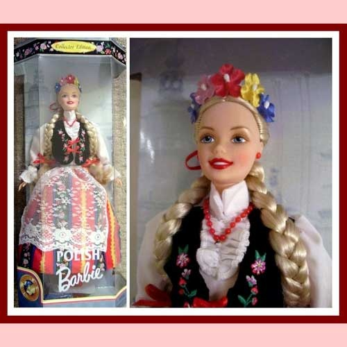 This is adorable!  Polish Barbie Polska