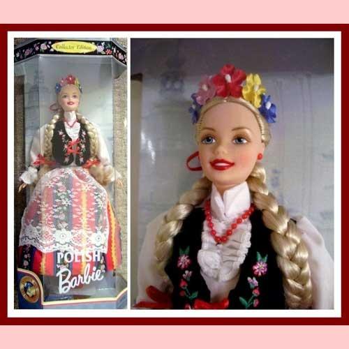 This is adorable!  Polish Barbie Polska