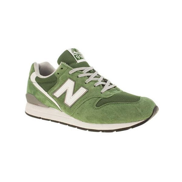 new balance green trainers