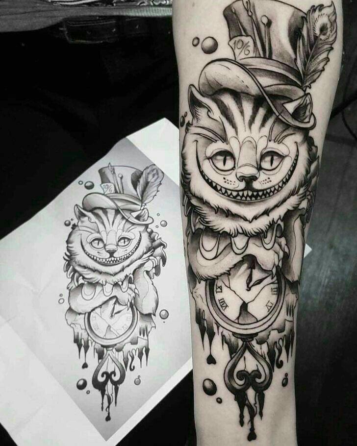 Tattoo Symbols And What They Mean Tatuagem Tatuagem Alice No