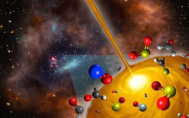 La chimie de l'univers pourrait être bien plus diversifiée qu'envisagé