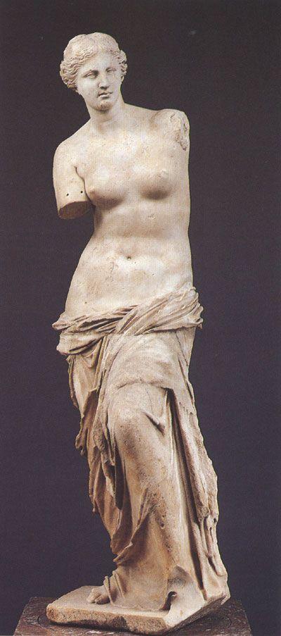 Александр. Венера Милосская. Ок. 120 г. до н.э.