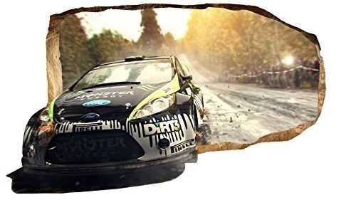 Startonight-3D-Mural-Wall-Art-Photo-Decor-Driving-Champion-Amazing-Dual-View-Sur
