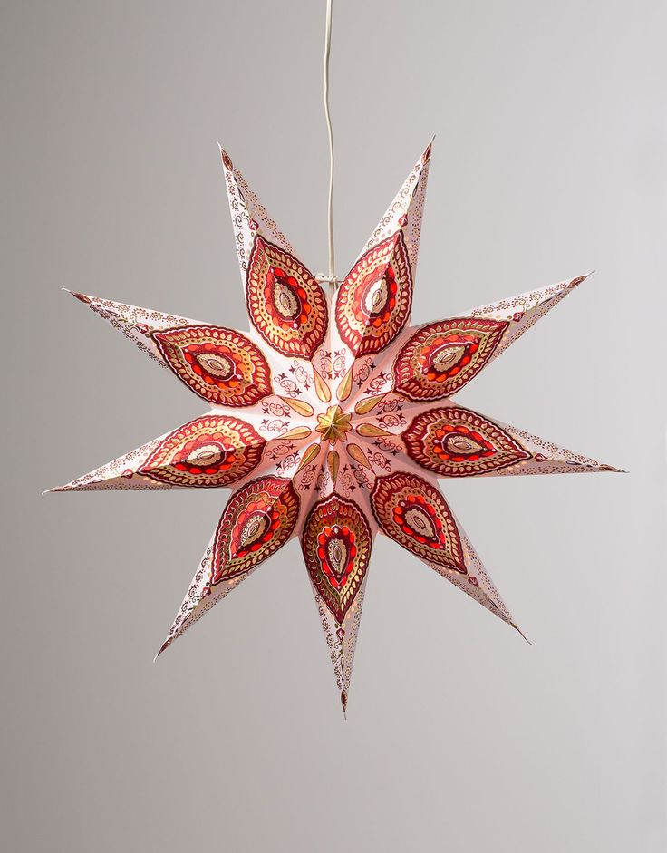 MAGIC STAR adventsstjärna julstjärna vit