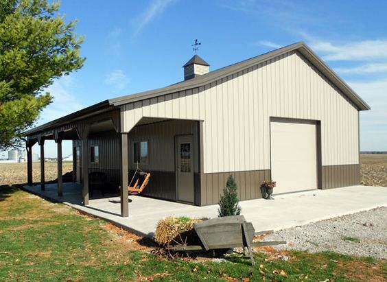 23 best pole barn garage ideas images on pinterest for 40x50 shop cost