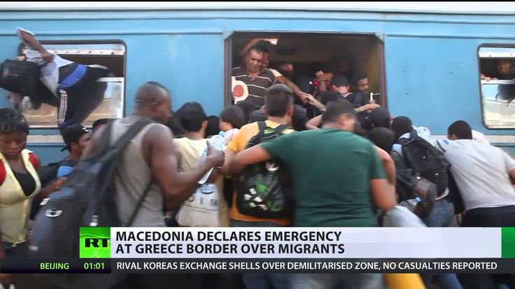 Macedonia declares state of emergency at Greece border over surge in mig...