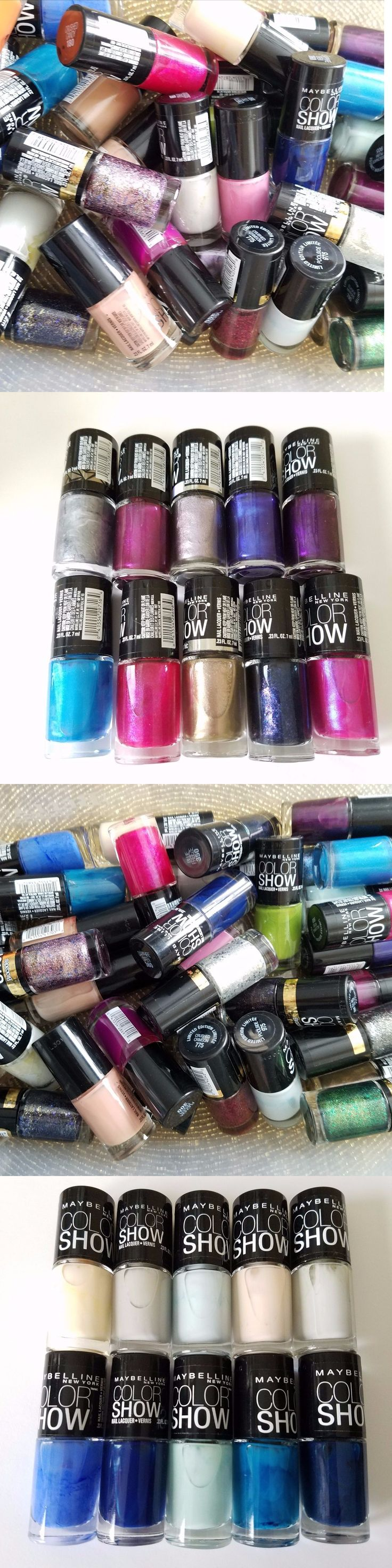 wholesale Nail: Maybelline Color Show Nail Polish Wholesale Lot Of 50 -> BUY IT NOW ONLY: $44.95 on eBay!