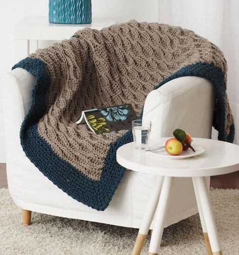 Short on time and need some quick crochet patterns? The Make it Quick Afghan from Bernat is an easy crochet pattern that you will love.