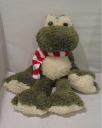 Christmas Frog Stuffed Animal