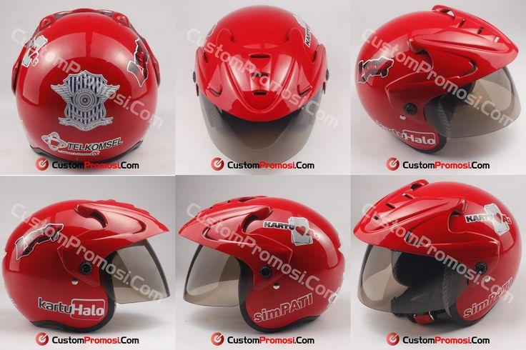 Helm Custom Telkomsel untuk anak