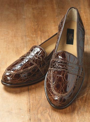 9dae341ef08 The Crocodile Loafer in Dark Brown