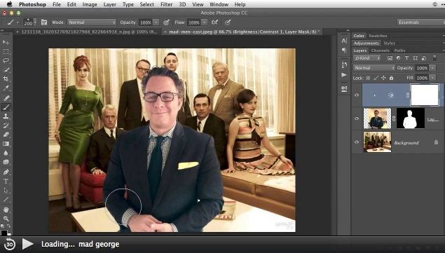 how to get rid a person on photoshop
