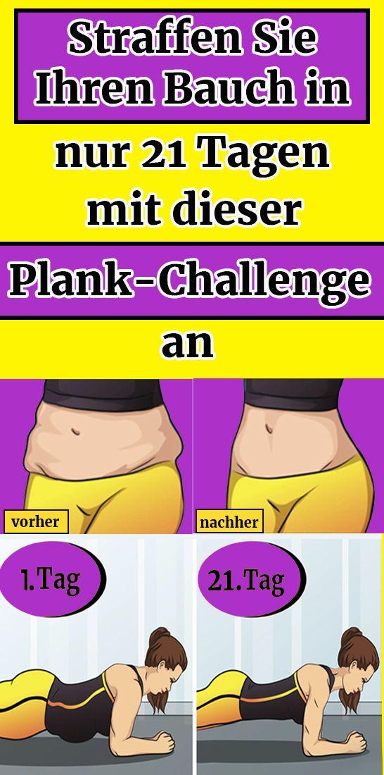 Straffen Sie Ihren Bauch in nur 21 Tagen mit dieser Plank-Challenge an – Konig Hermann